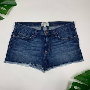 Current Elliot sz 28 The Boyfriend Shorts cut off